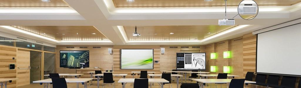 Medios Audiovisuales-Empresas-Salas de Formación