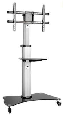 Soporte de suelo móvil para monitor Traulux